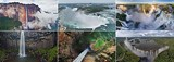 Waterfalls around the World - AirPano.com • 360 Degree Aerial Panorama • 3D Virtual Tours Around the World